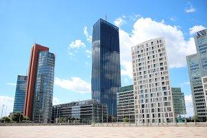 Vienna skyscrapers