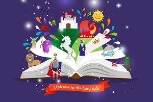 Fairy tale book