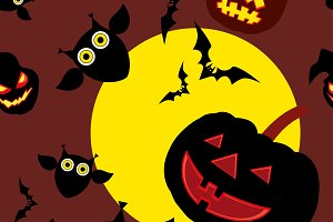 Background Happy Halloween