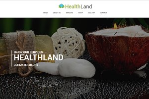 Healthland - Responsive One Page Spa