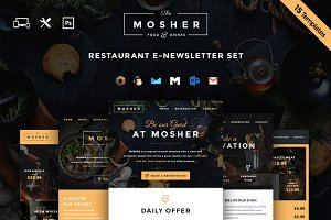Mosher - Restaurant Email Set