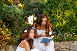 Two sisters and a book