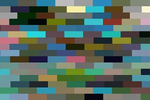 Multicolored Pixel Rectangles