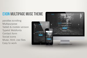 Exon - Multipage muse theme