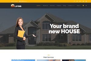Living - Builder Html Template