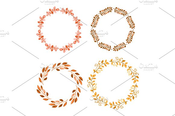 Hand Drawn Branches Set. Autumn in Illustrations - product preview 2