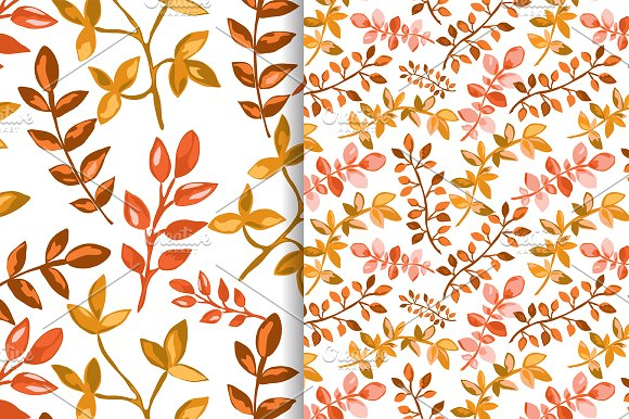 Hand Drawn Branches Set. Autumn in Illustrations - product preview 3