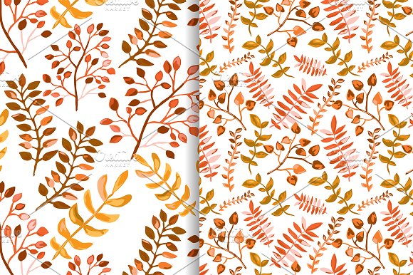 Hand Drawn Branches Set. Autumn in Illustrations - product preview 4