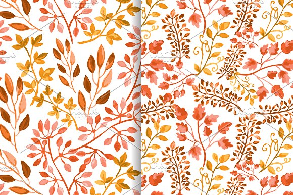 Hand Drawn Branches Set. Autumn in Illustrations - product preview 5