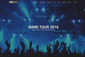 Meetup - Meeting Music Band Template
