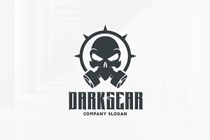 Dark Gear Logo Template