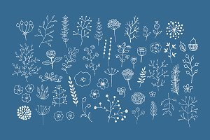 Freehand Vector Decor Pack