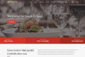 Foodelicious - Restaurant Template