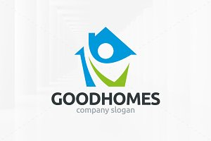 Good Homes Logo Template