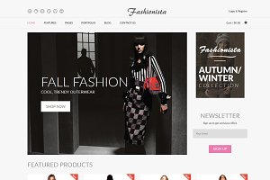 Fashionista - Fashion Ecommerce