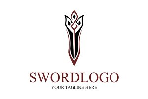 Elegant Sword Logo