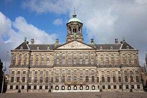 Royal Castle in Amsterdam