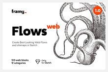 Flows — UI Blocks for Web & Sitemaps