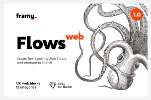 Flows — UI Blocks for Web & Sitemaps