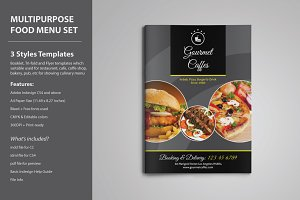 Multipurpose Food Menu Template