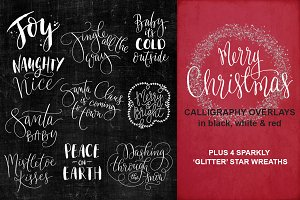 Christmas Wishes Overlays - Vol 3