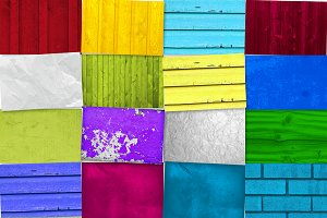 20 Colored Textures for $2