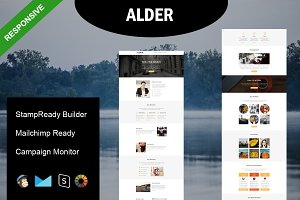 ALDER - Responsive Email Template