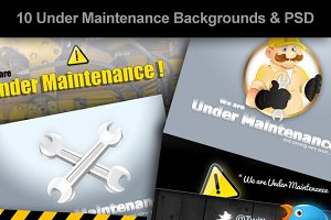 Under Maintenance Backgrounds