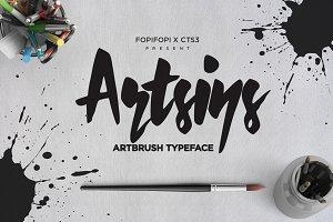 Artsins Typeface