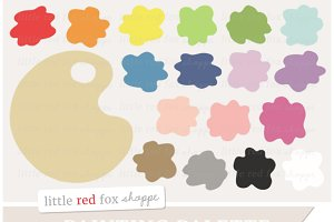 Painting Palette Clipart