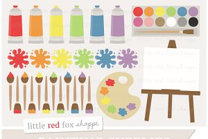 Paint Supplies Clipart