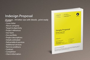 Indesign Proposal