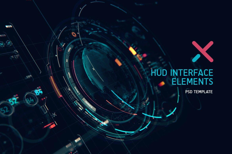 futuristic hud interface ui xt1 illustrations creative