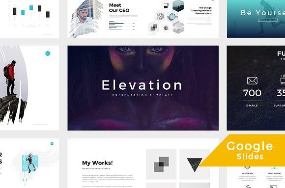 Slides Templates | Elevation Google Slides Template Presentation Templates Creative