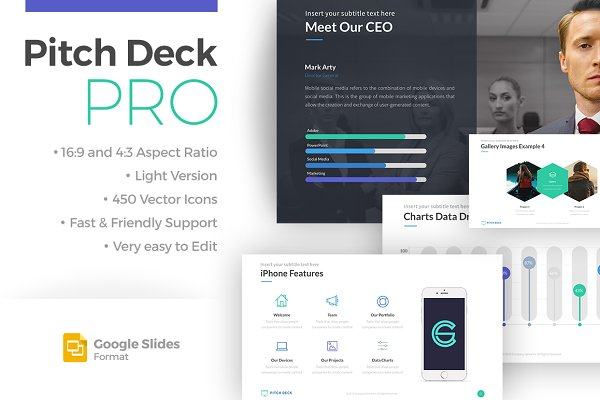 Pitch Deck Pro - Google Slides