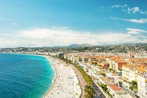 Nice city, Promenade des Anglais