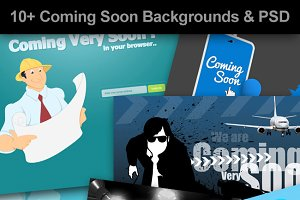 Coming Soon - Web Backgrounds