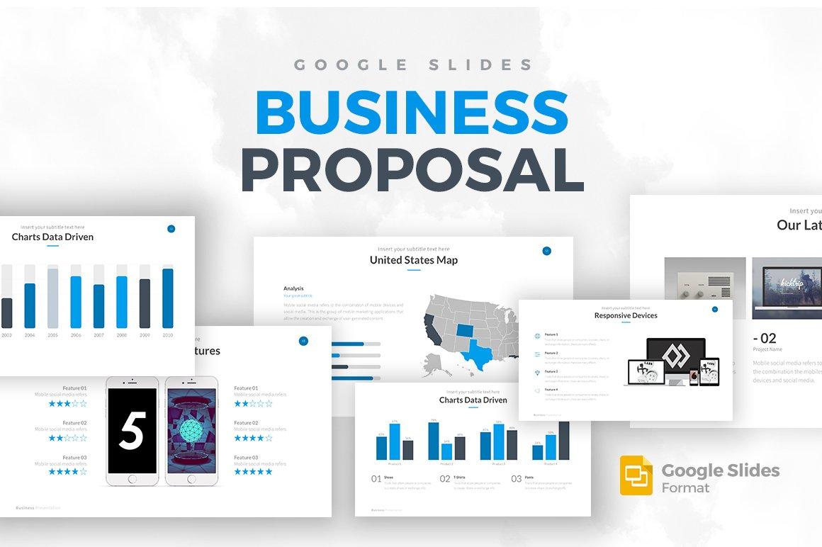 Business proposal google slides presentation templates for Google prasentationen designs