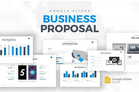Business Proposal Google Slides Presentation Templates
