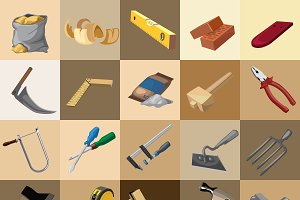 Great set of instruments, 25 icons