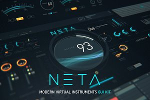 NETA: Modern virtual instrument UI