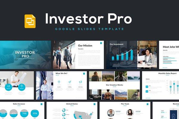 Investor Pro - Google Slides