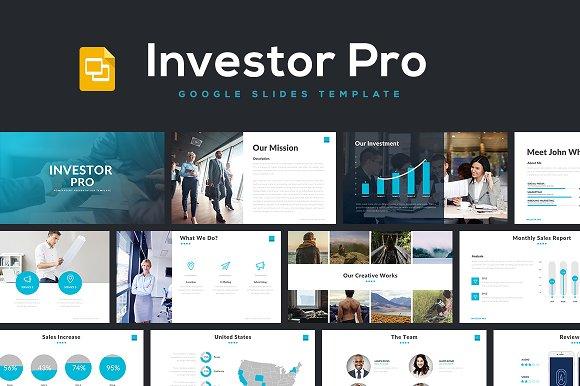 investor pro google slides presentation templates creative market