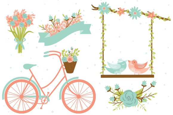 clipart of a wedding - photo #42