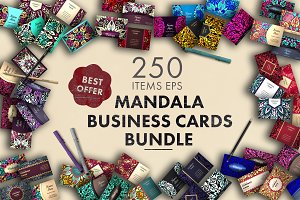 Business cards bundle.