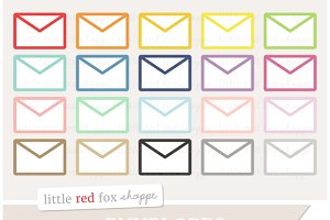 Kawaii Envelope Clipart ~ Illustrations on Creative Market