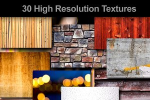 30+ Textures Pack