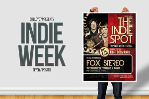 Indie Week Flyer / Poster