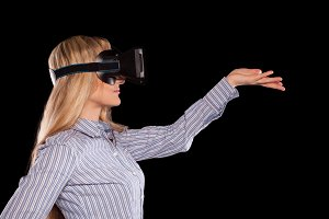 interactive virtual reality video