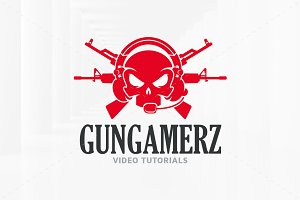 Gun Gamer Logo Template